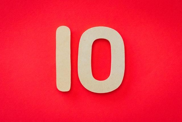 les 10 choses a ne pas faire sur son site
