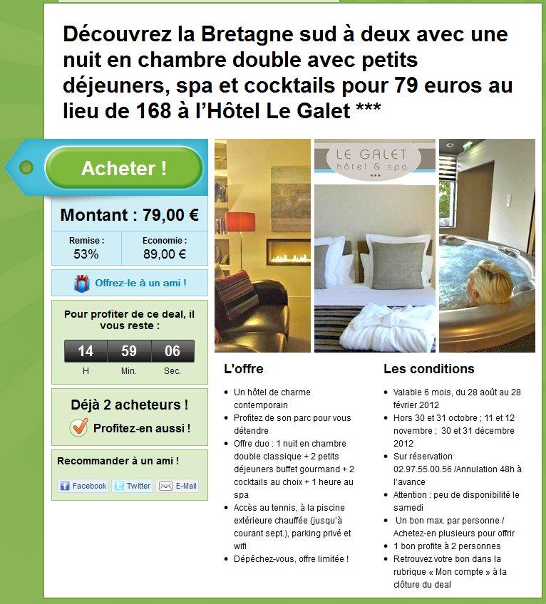 reservation hôtel groupon