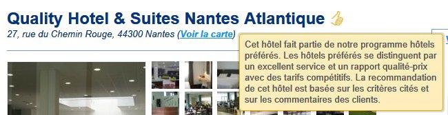 hotel label site internet