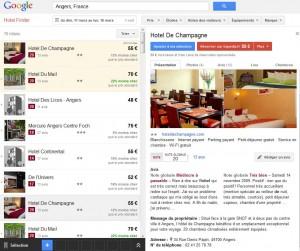 fiche google hotel finder