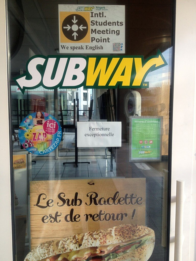 Restaurant Subway Saint Constant Qc