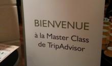 TripAdvisor Master Class, Paris le 12 juin