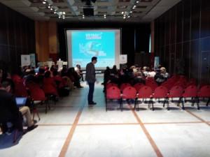 Mathieu Vadot anime son Barcamp ;)