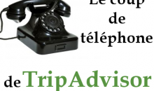 Le coup de téléphone de TripAdvisor