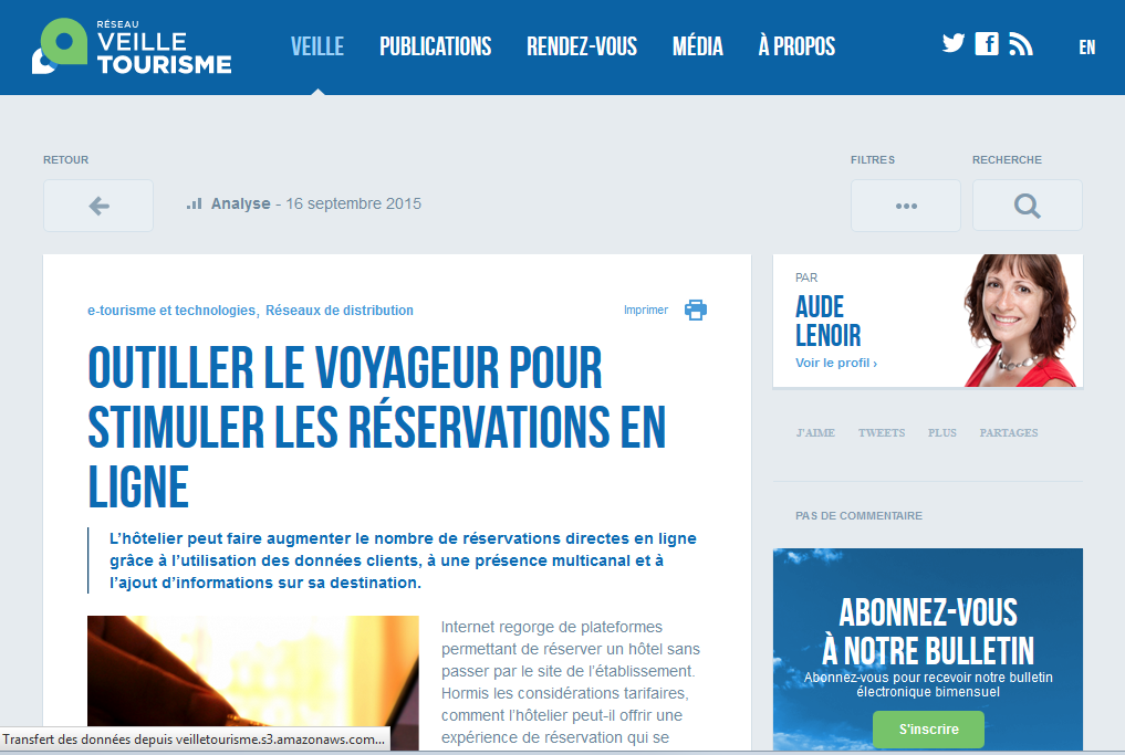 newsletter-veilletourisme