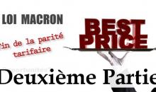 Macron, la parité tarifaire, l'hôtellerie … un an après 2/2
