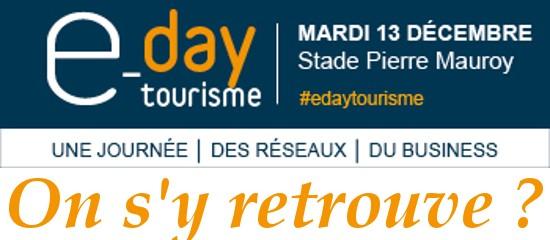 e-day tourisme – 13 décembre 2016 – Lille