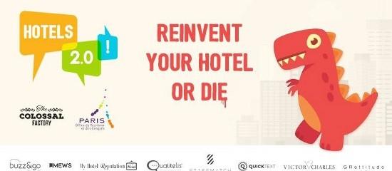 Evenement Hotel 2.0 – Reinvent your hotel or die