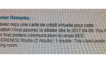 Attention à la carte virtuelle de Booking: avantages/inconvénients !