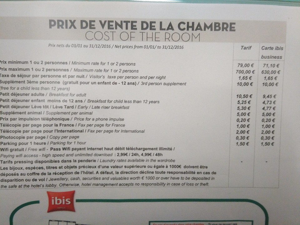Une solution intelligente au casse t te de l 39 affichage for Prix des hotels