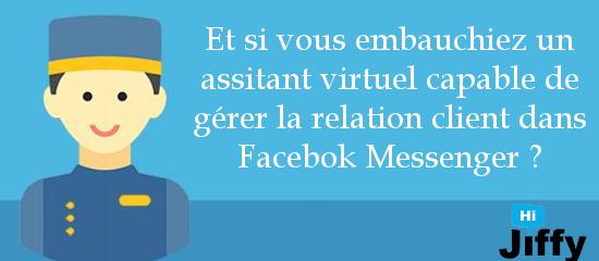 Il y a un Bot dans votre Facebook Messenger … il vous veut du bien