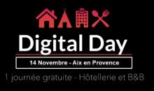 Digital Day Hôtellerie à Aix en Provence le 14 novembre