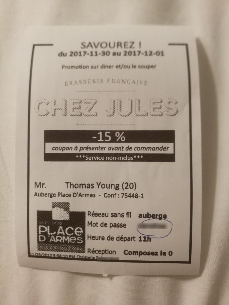 Restaurant Chez Quebec Deli Rue Jarry Menu